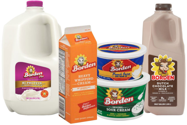 Borden Dairy products
