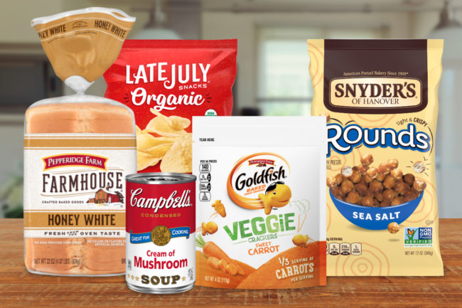 Campbell Soup Co. products