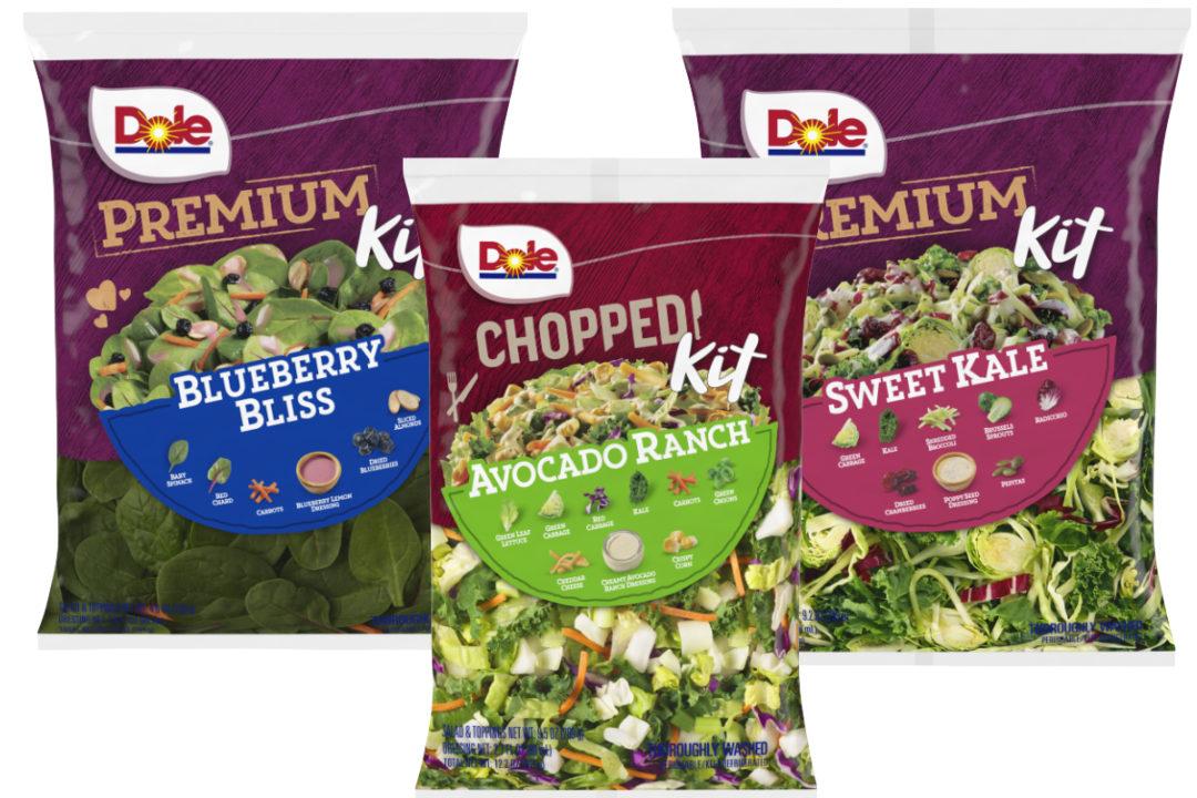 Dole Premium and Chopped salad kits