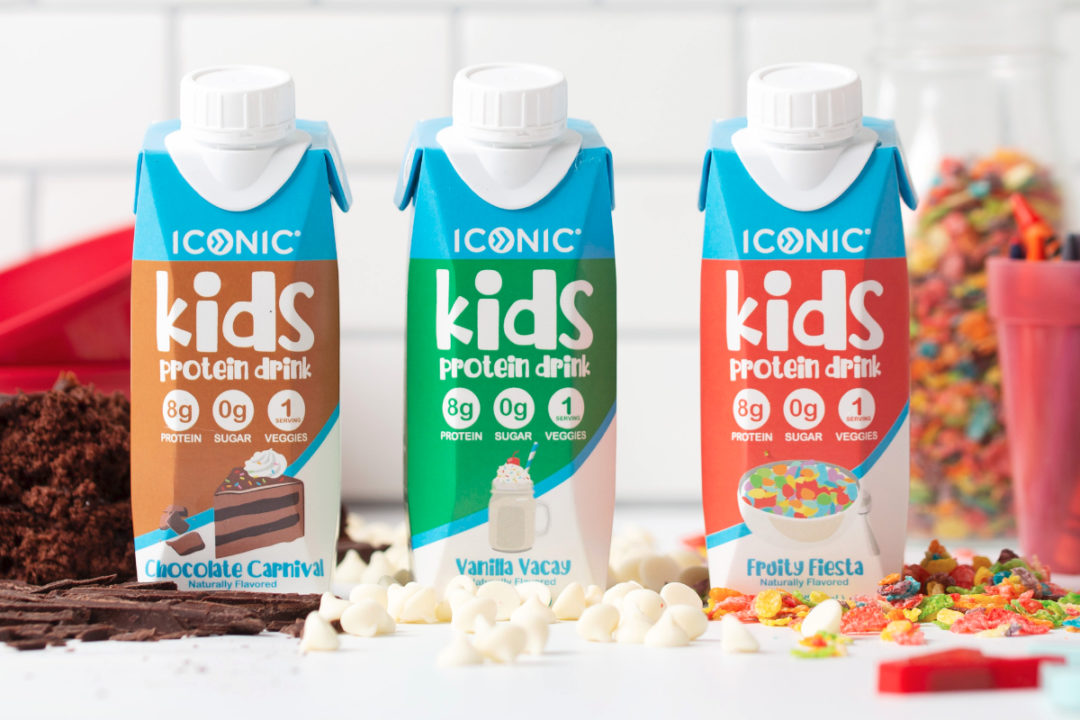 Iconic Kids protein beverages for children