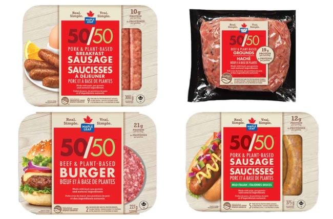 Maple Leaf 50/50 products