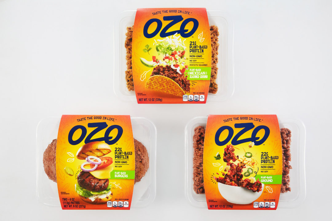 OZO plant-based products