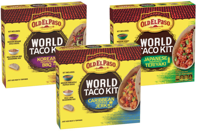 Old El Paso World Taco Kits