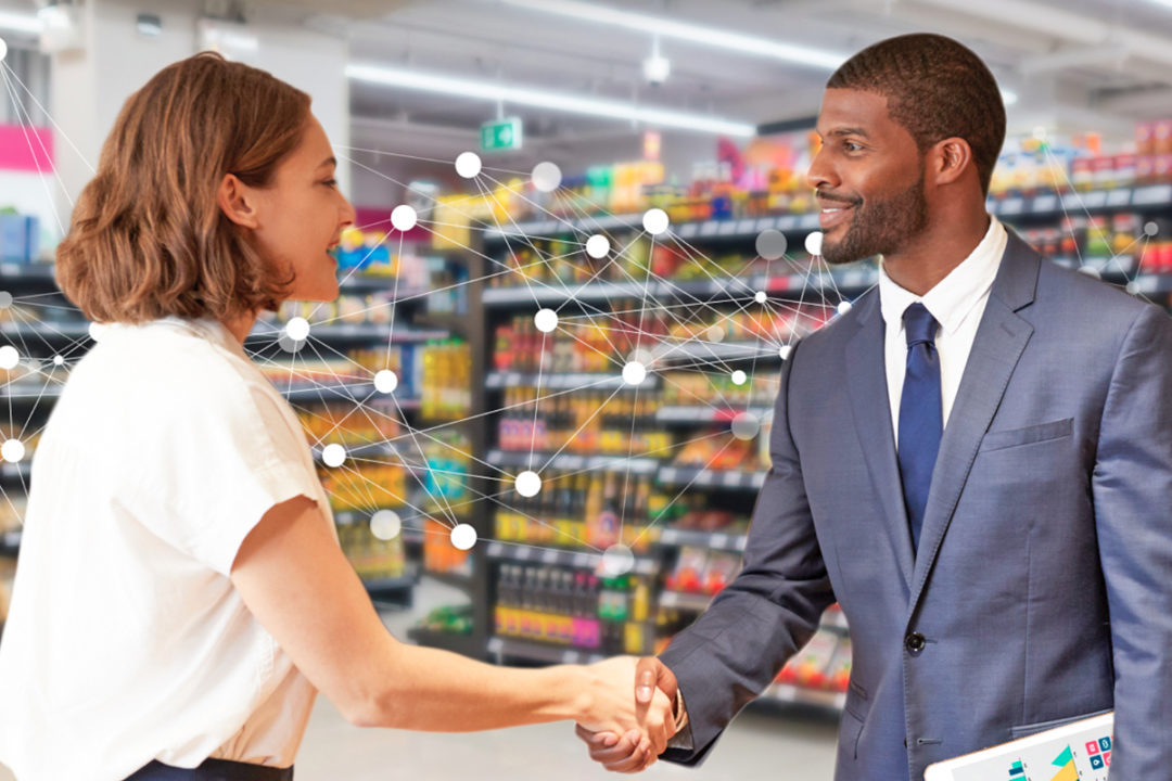 Collaboration between grocery retailer and supplier