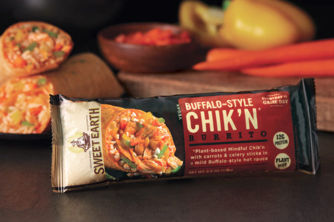 Sweet Earth Foods Buffalo Style Chik'n Burrito