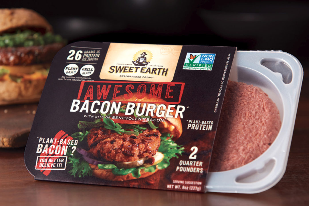 Sweet Earth Foods Awesome Bacon Burger