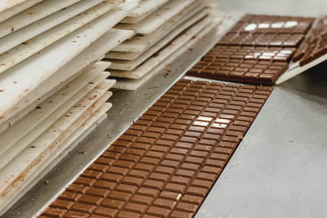 Barry Callebaut chocolate production
