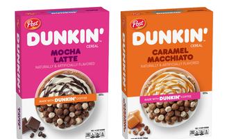 Dunkin cereal lead