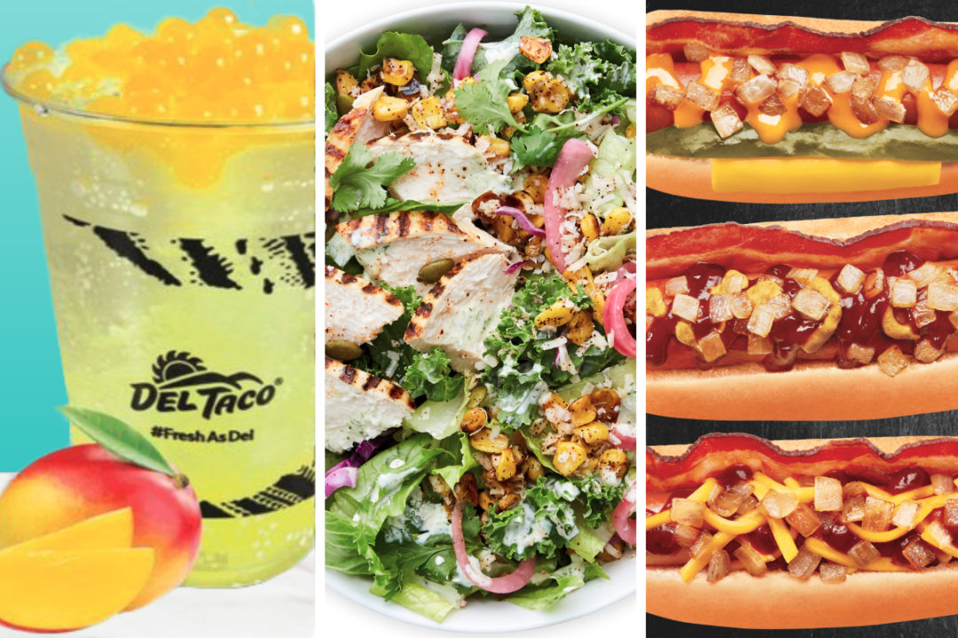 New menu items from Del Taco, Chopt, Wienerschnitzel