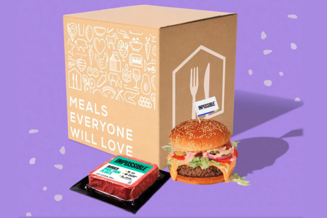 Home Chef Impossible Burger