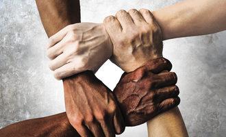 Multiracialhands lead