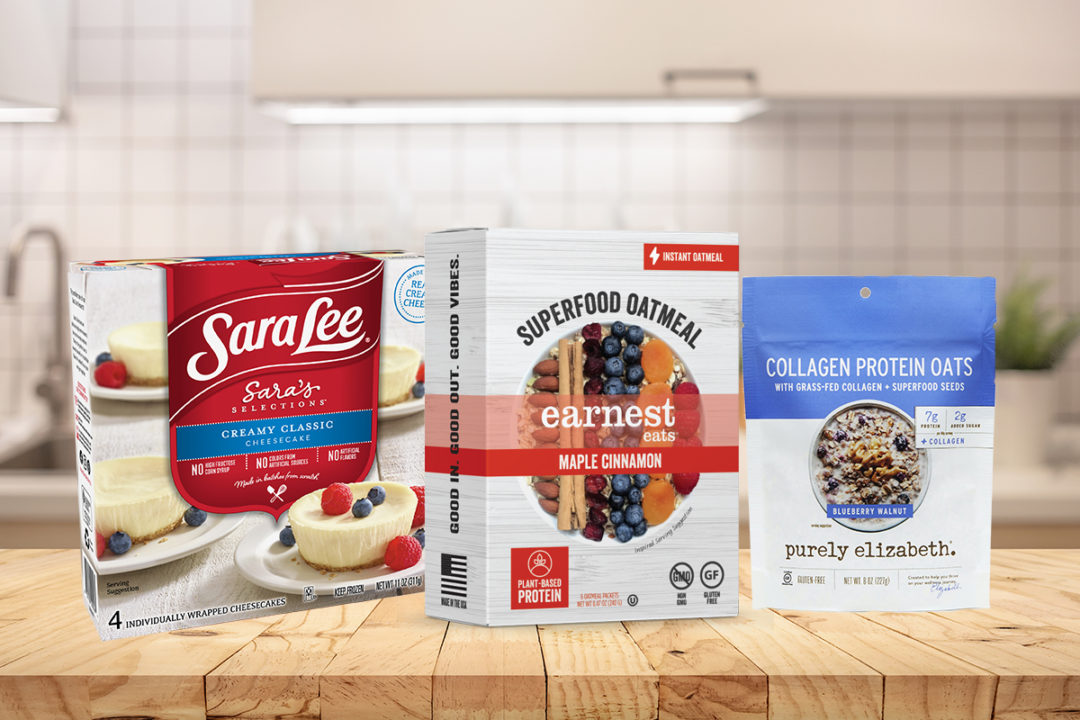 New Sara Lee, Earnest Eats, Purely Elizabeth products