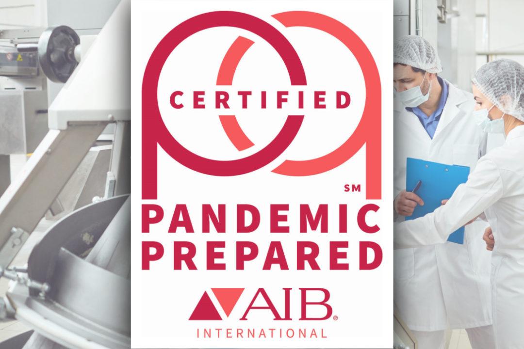 AIB International Pandemic Prepared Certification