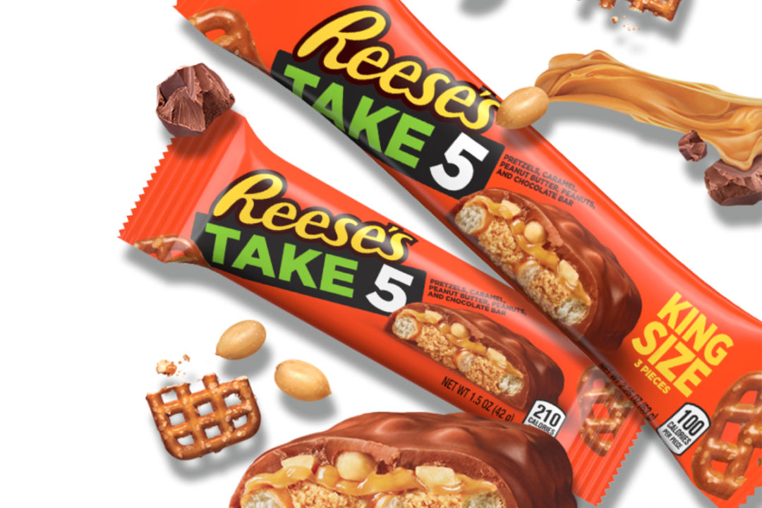 Reese's Take 5 bars