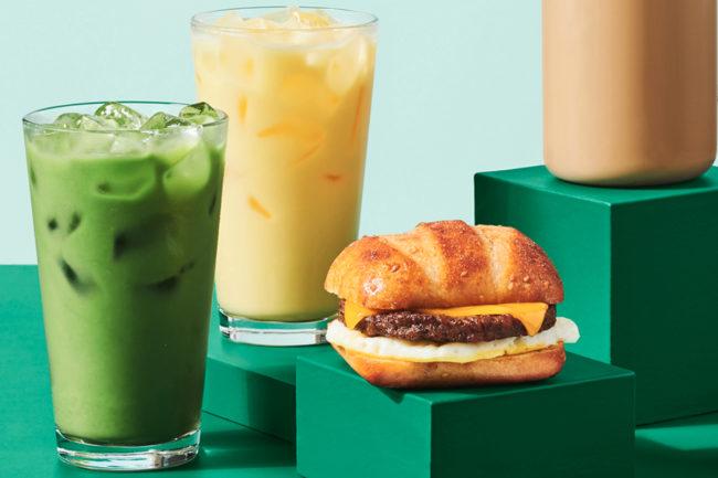 Starbucks plant-based menu innovation