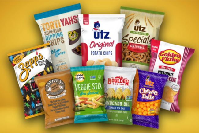 Utz Quality Foods chips and salty snacks