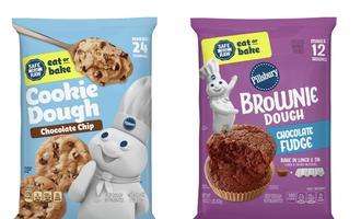 Pillsbury eat or bake dough lead