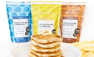 Flourish pancake mixes lead