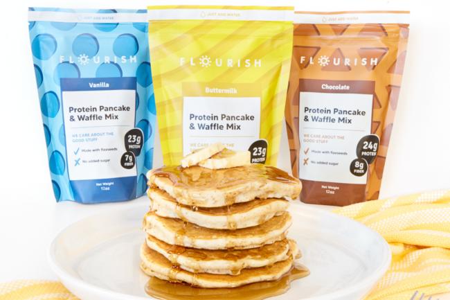 Flourish Pancakes pancake mixes