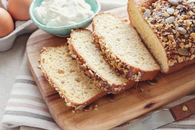 Healthy almond bread