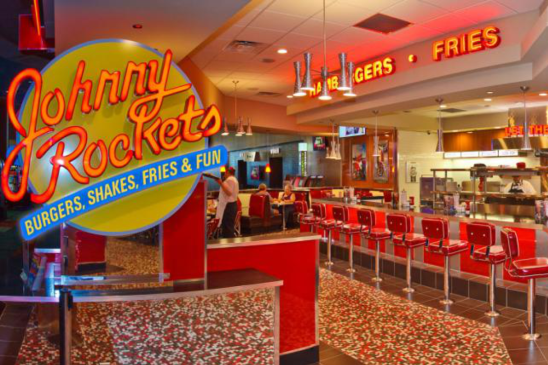 Johnny Rockets restaurant interior