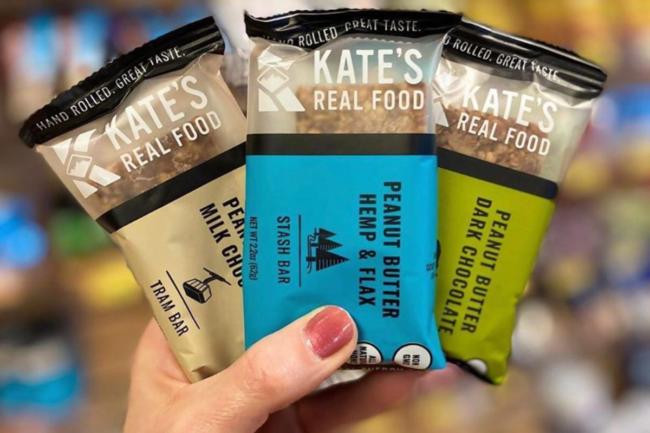 Kate's Real Food energy bars