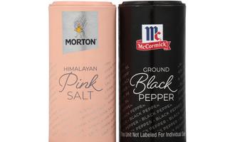 Morton salt and mccormick shakers lead
