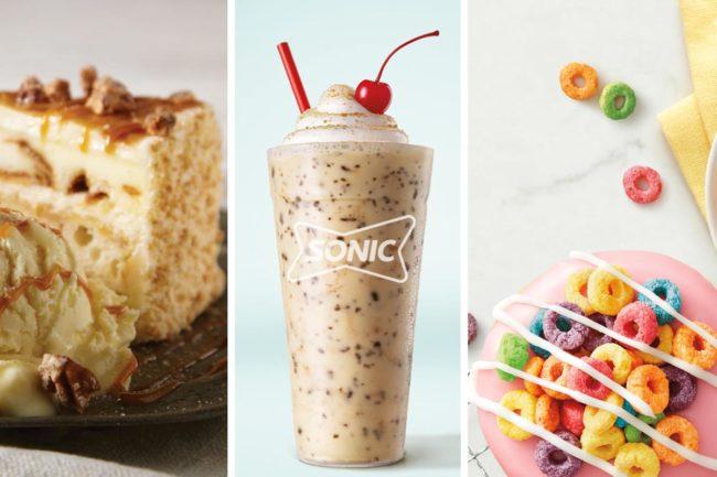 New menu dessert mashups