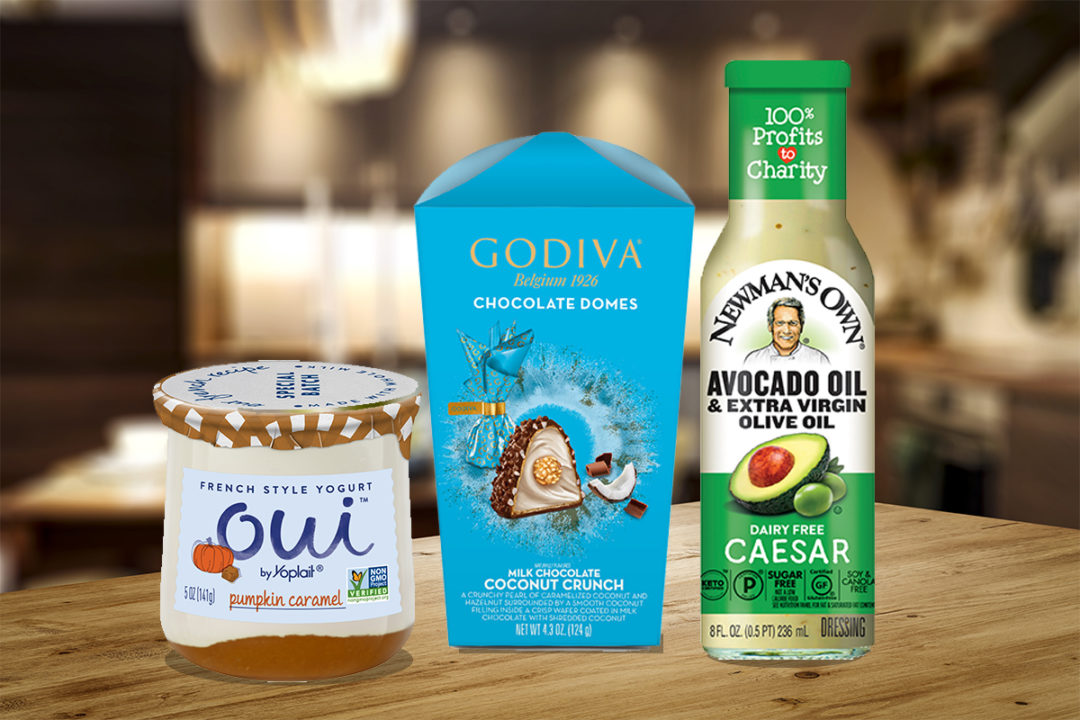 New products from General Mills, Godiva, Newman's Own