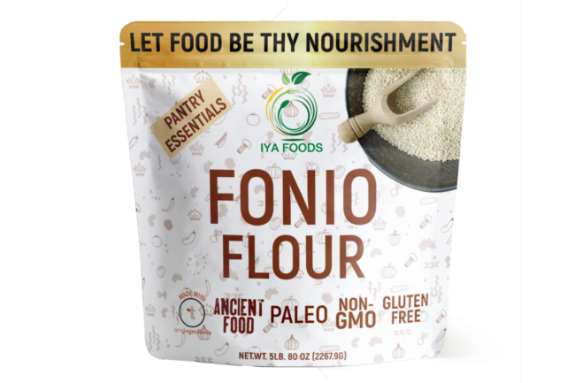 Terra Ingredients' and IYA Foods' fonio flour