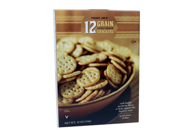 Trader Joe's 12-grain crackers