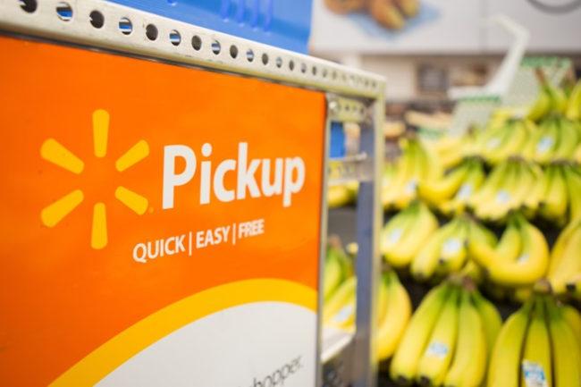 Walmart grocery pick-up