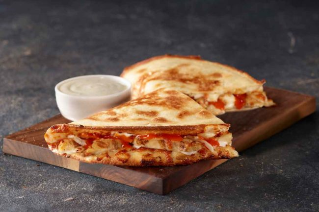 Papa John's new Grilled Buffalo Chicken Papadia