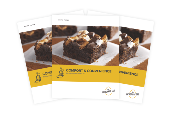Comfort Food Trends whitepaper from the American Egg Board