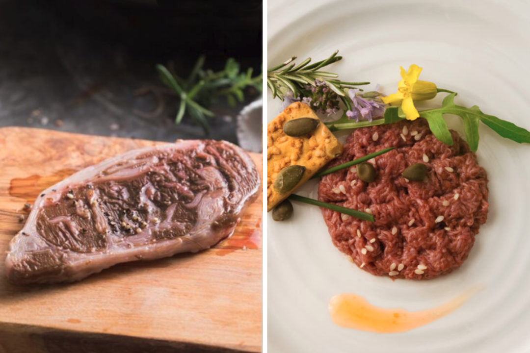Aleph Farms and Mosa Meats cultivated meat