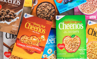 Cheeriosflavors lead