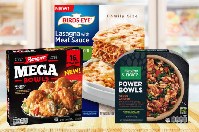 Conagra frozen food offerings