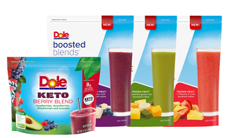 Dole blends lead