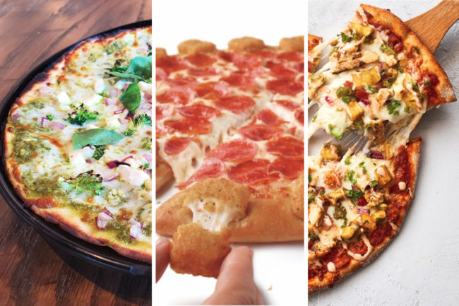Pizza innovation from 1000 Degrees Pizza, Pizza Hut and Your Pie