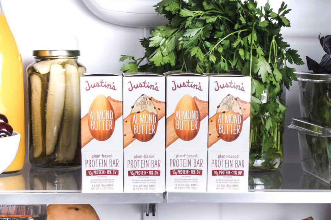 Justin's refrigerated almond butter bars
