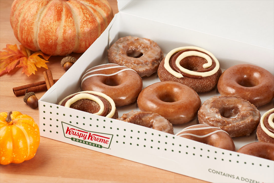 Krispy Kreme pumpkin spice collection