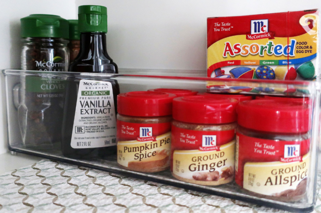 Spices and seasonings from McCormick & Co