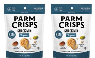 Parmcrisps keto snack mix lead
