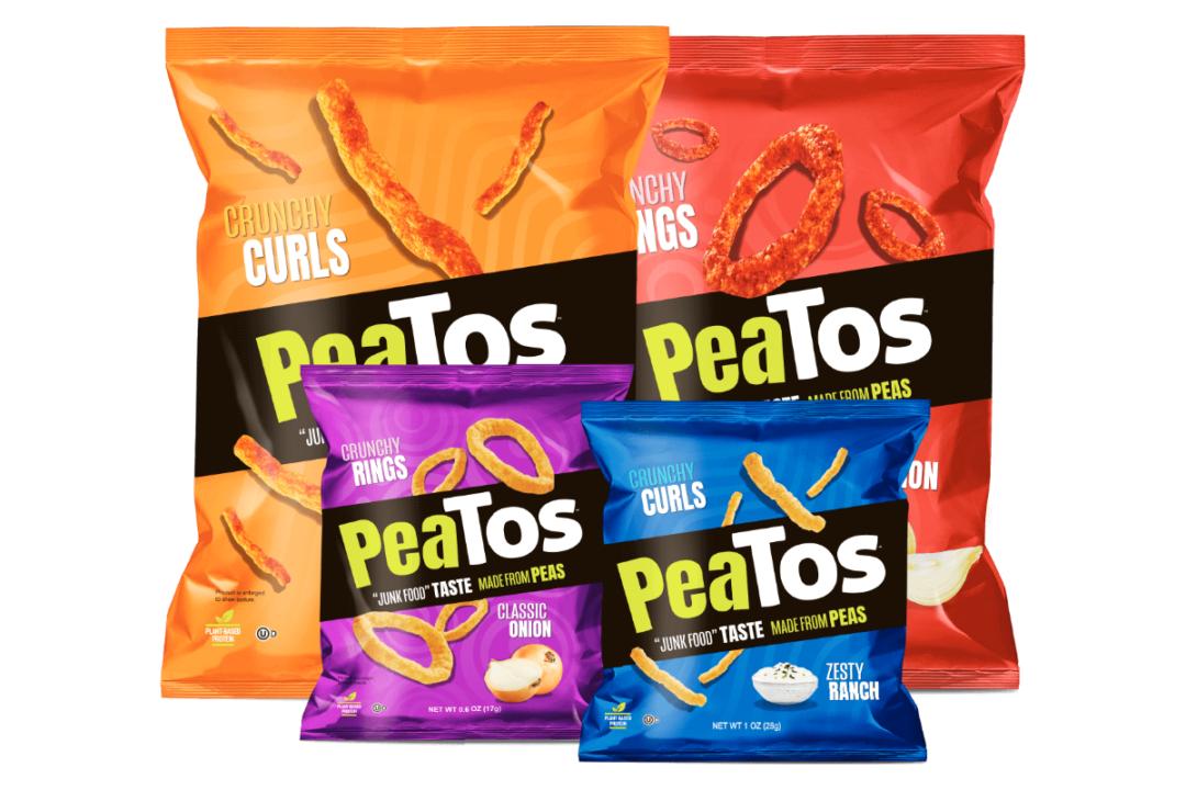 Peatos' crispy curls and crispy rings