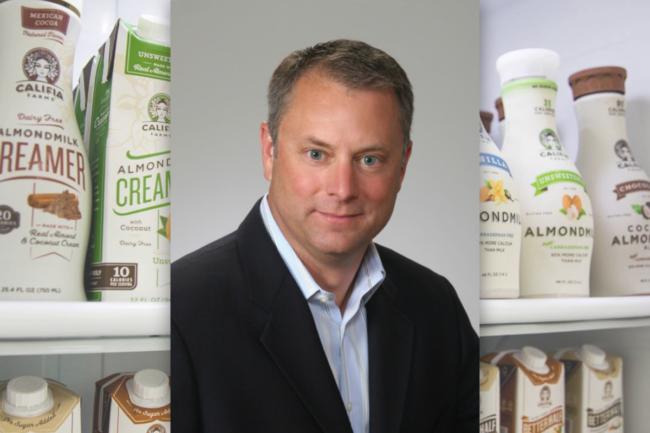 David W. Ritterbush, CEO of Califia Farms