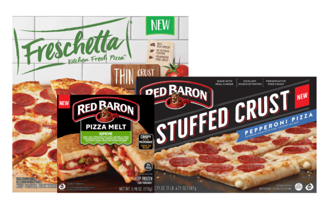 New frozen pizzas from Schwan's