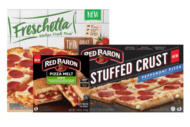 New frozen pizzas from Schwan's