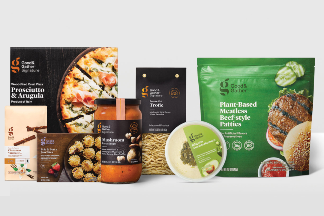New products under Target's Good and Gather line