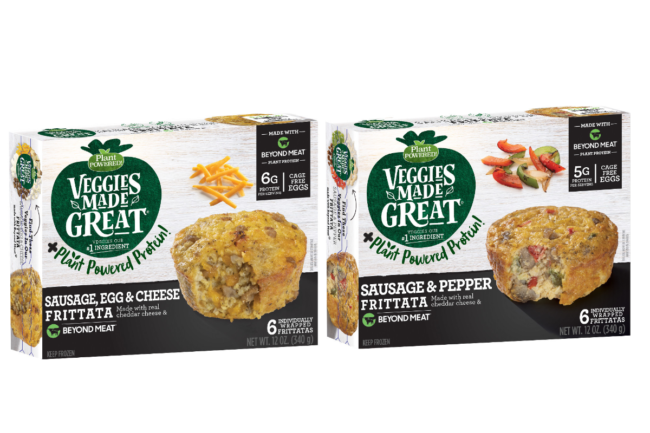 Veggies Made Great Frittatas made with Beyond Meat