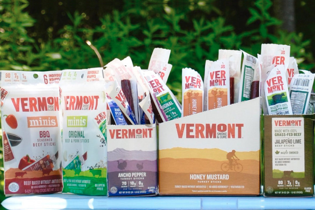Vermont Smoke & Cure meat snacks